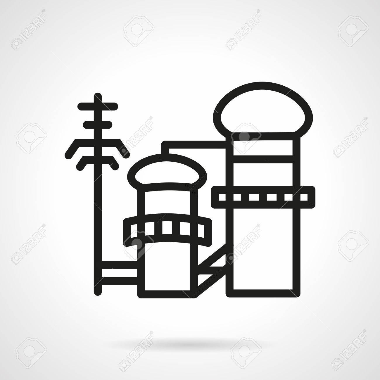 Einfache Flache Farbe Vektor-Symbol Für Die Zellstoff- Und ...