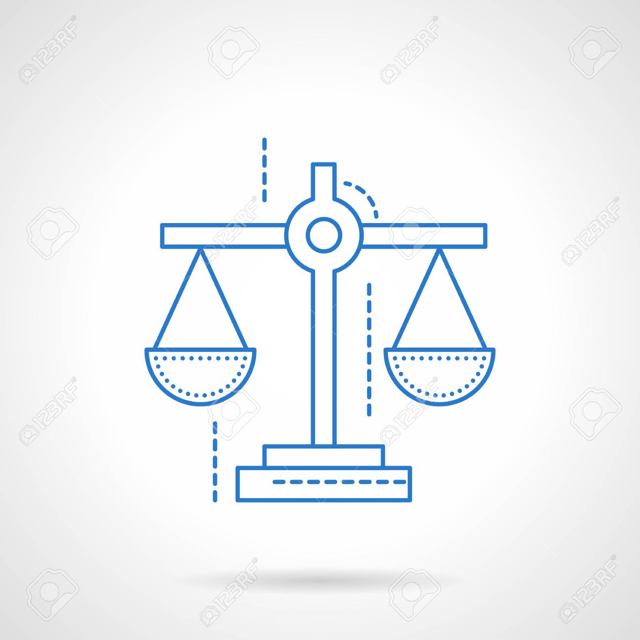 Scales Symbol For Justice Business Royalty Free Cliparts Vectors