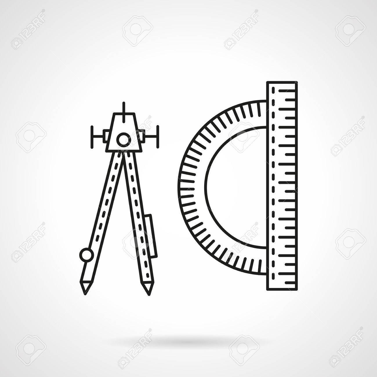 werkzeuge und gegenstände für ingenieure, designer, architekt