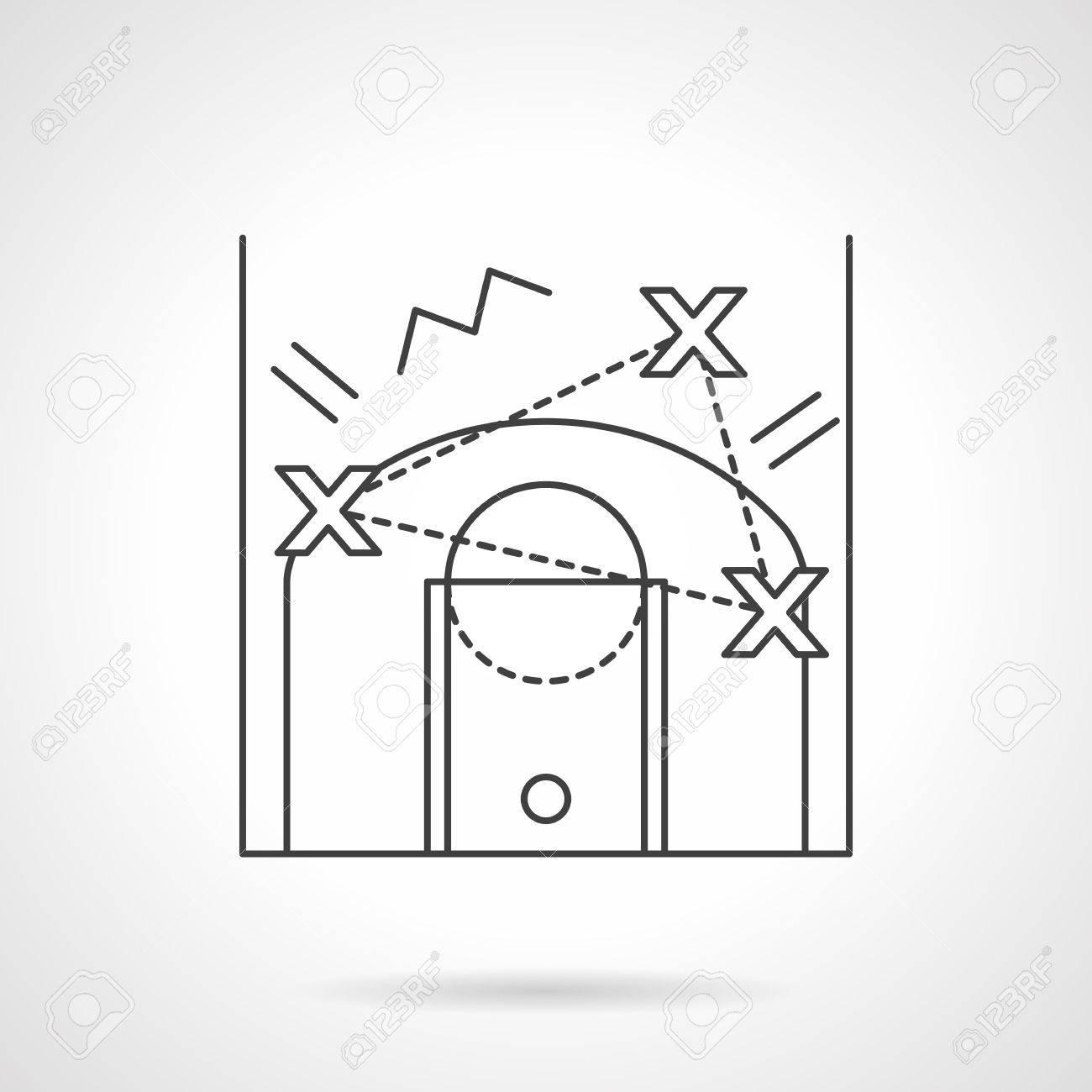 Ou La Planification Stratégie Ball Tactique De Basket fy7b6g