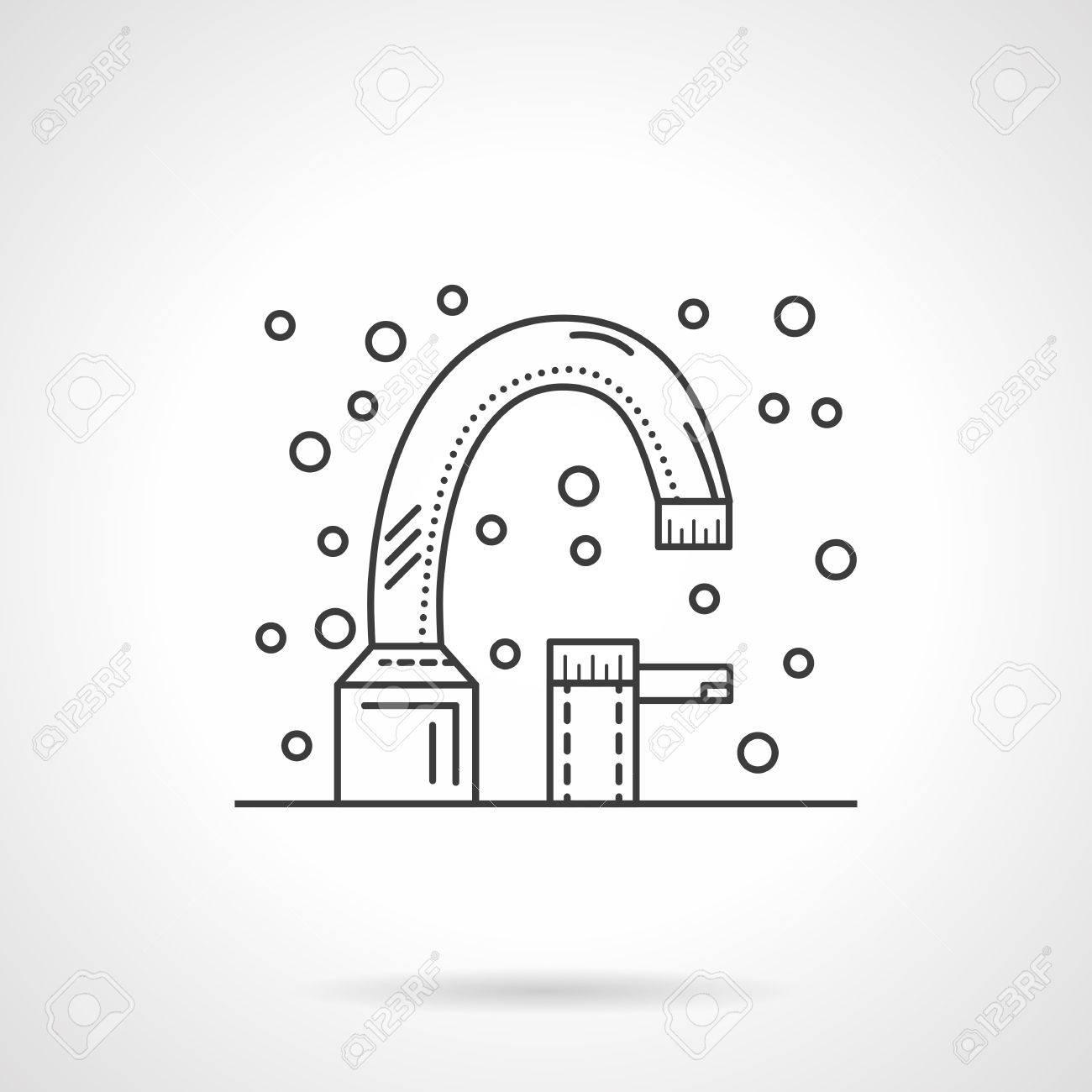 Faucet For Bathroom Washstand. Bathroom Equipment. Hygiene ...