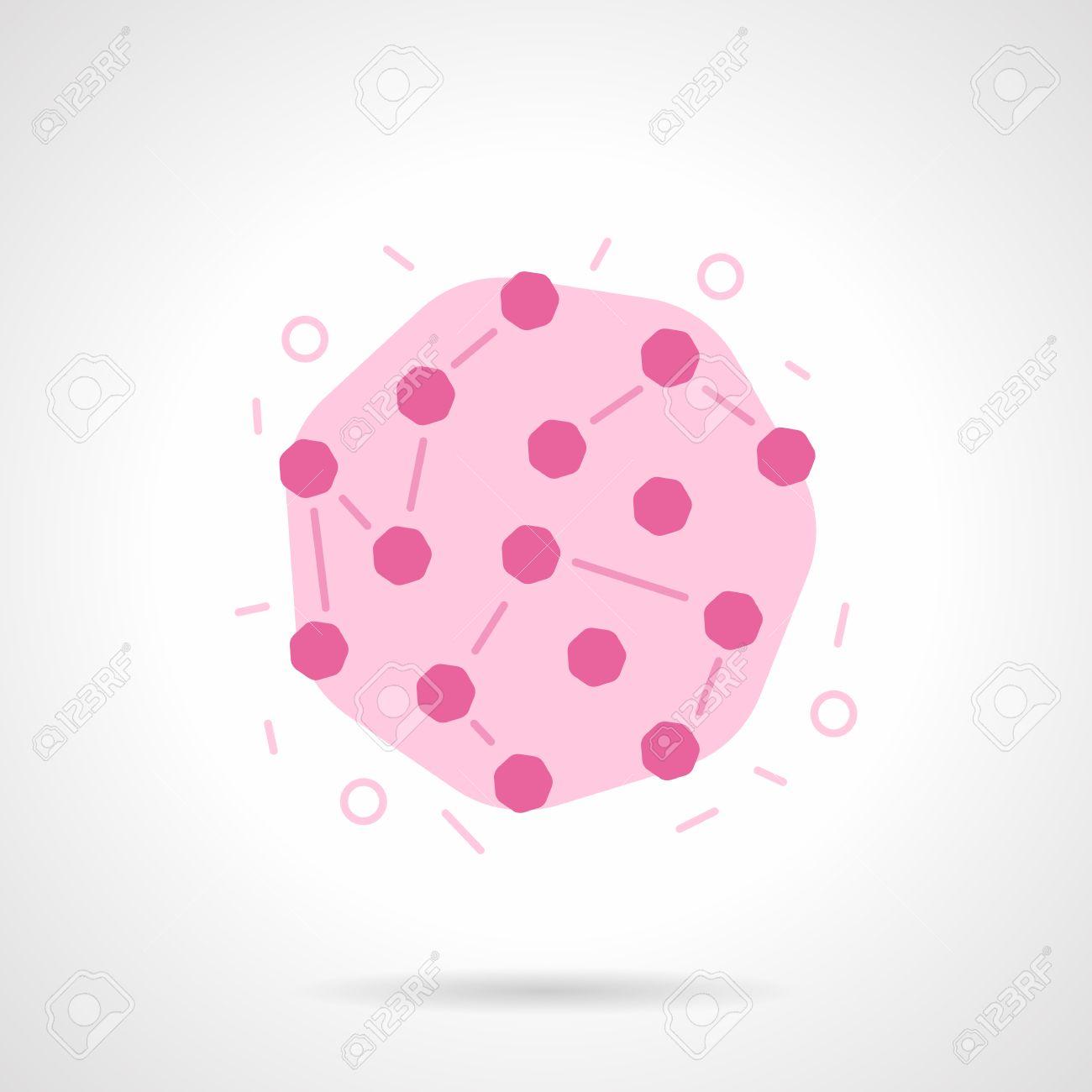 風疹ウイルスのモデル。ウイルス感染。ウイルス学、免疫学および微生物 ...