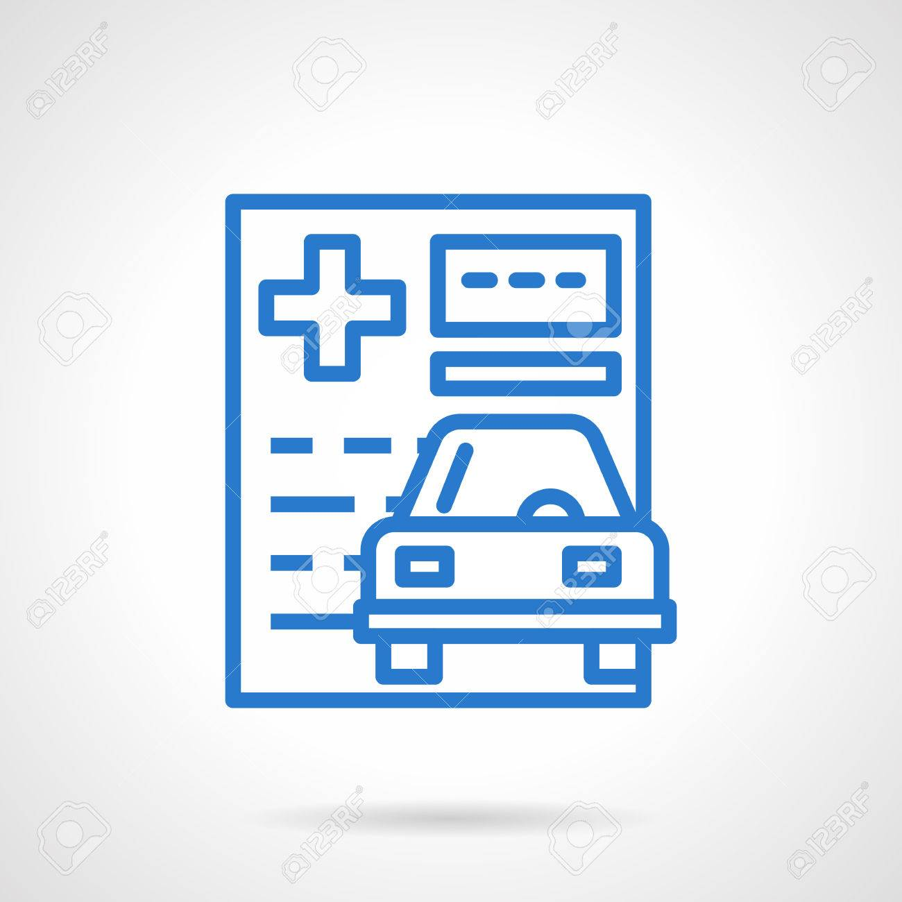 Car Insurance Theme Insurance Policy Paper Documentation For