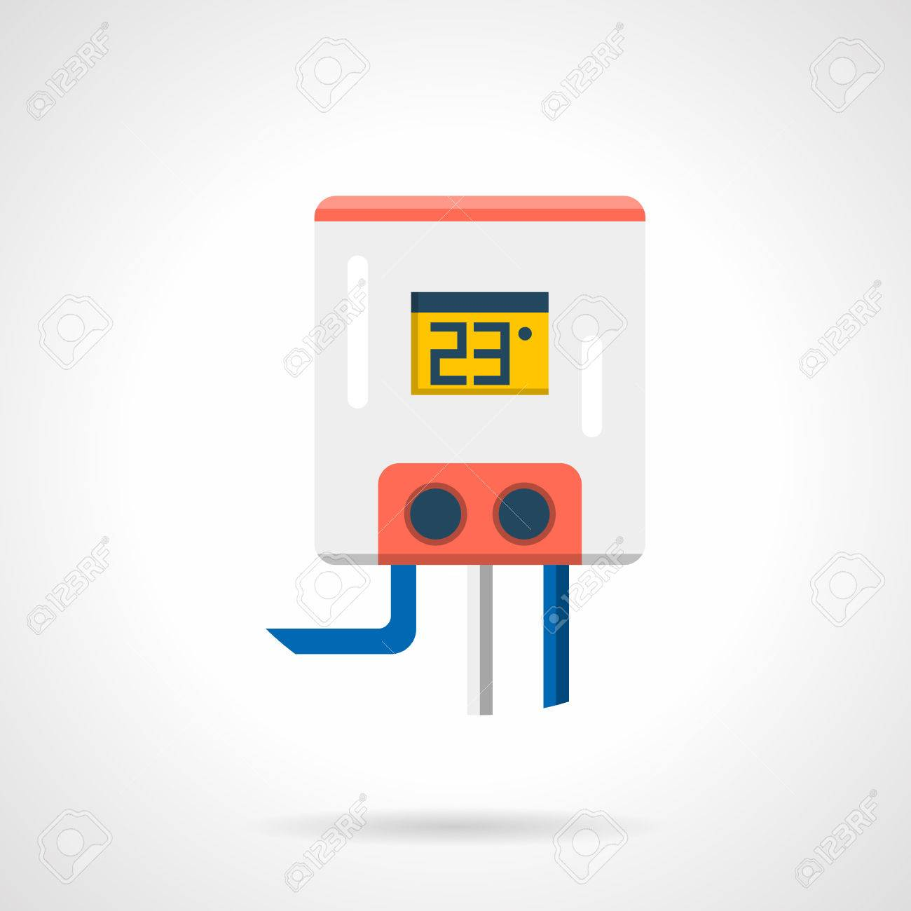 Calentador Eléctrico De Agua Para El Sistema De Calefacción Por ...