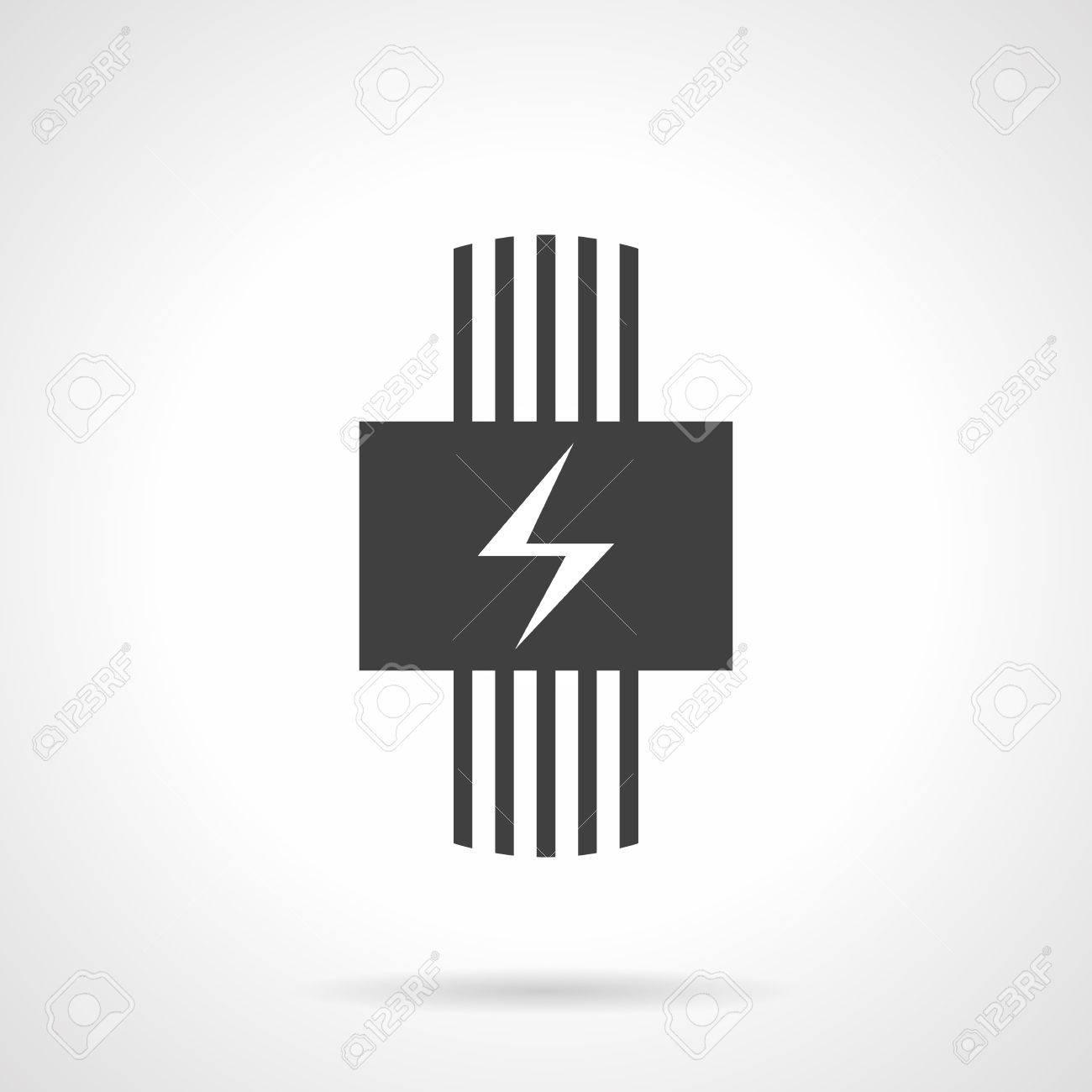 Elektro-Heizung Für Haus. Beheizte Bodenmodell. Elektrische Draht ...
