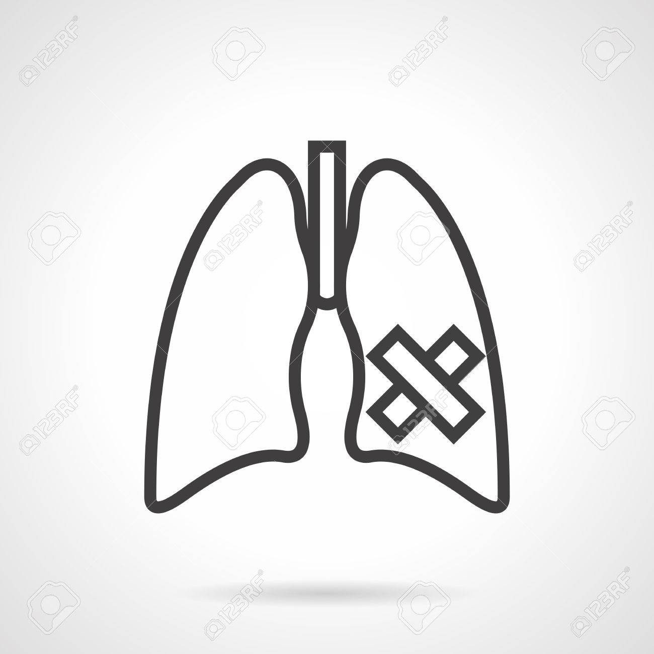 Symbol of lung disease cancer tuberculosis pneumonia royalty symbol of lung disease cancer tuberculosis pneumonia stock vector 68780943 biocorpaavc Images