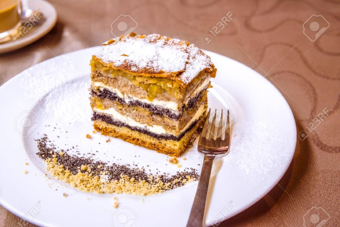 Exquisite Sussspeise Ein Traditioneller Kuchen Aus Prekmurje Mit