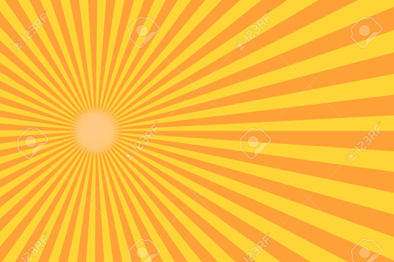 Retro sunburst ray in vintage style. Abstract comic book background. Vector illustration - 78795462