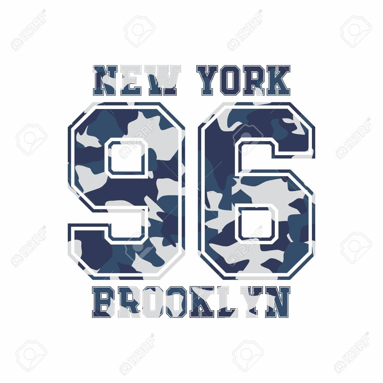 Camouflage typography for clothes with lettering new york camouflage typography for clothes with lettering new york brooklyn 96 typography for t buycottarizona