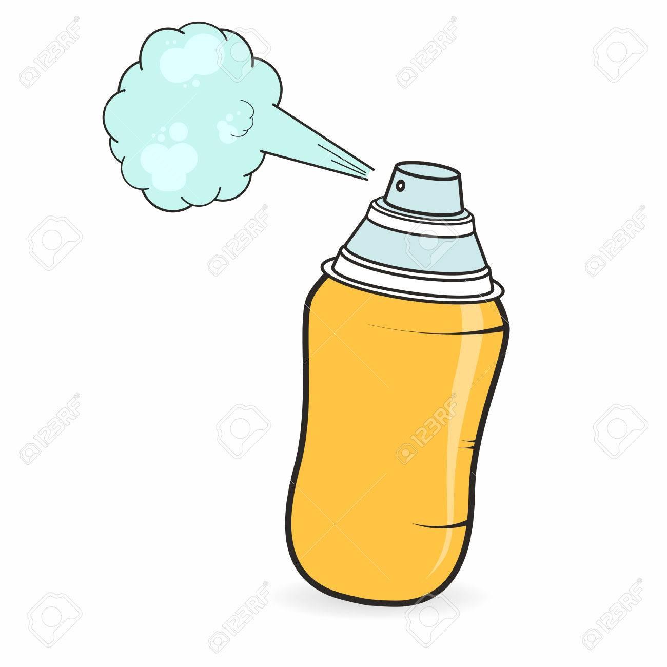 graffiti spray can in cartoon style isolated on white background rh 123rf com  graffiti spray free vector
