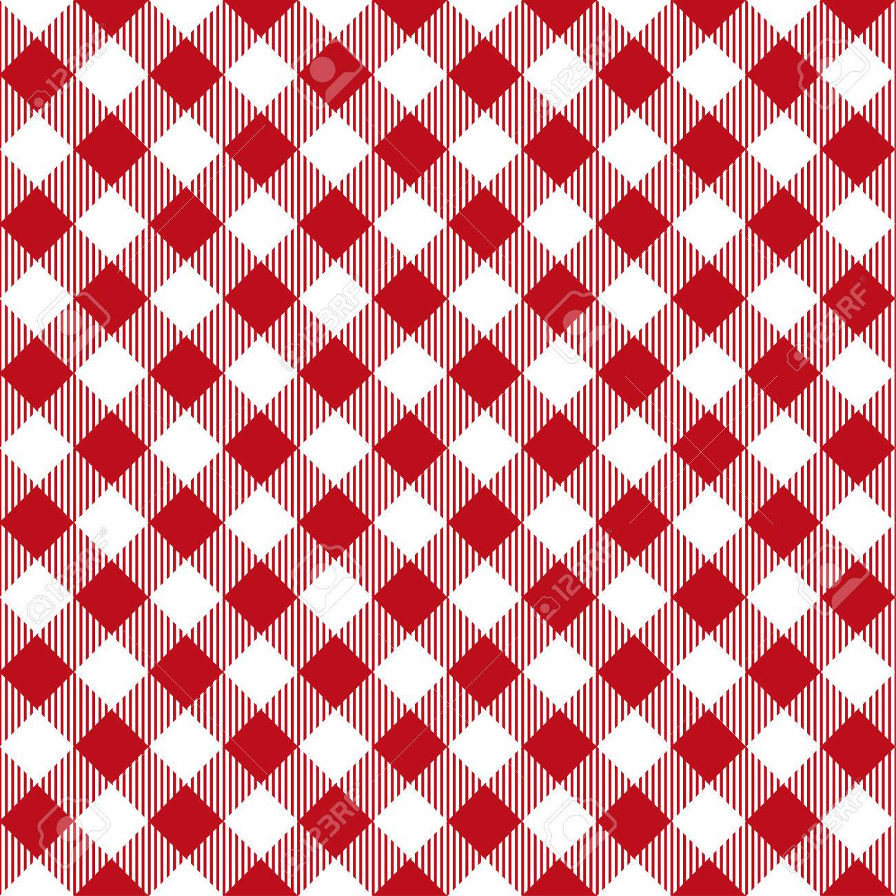 Merveilleux Picnic Table Cloth Seamless Pattern. Red Picnic Plaid Texture. Vector Stock  Vector   83393221