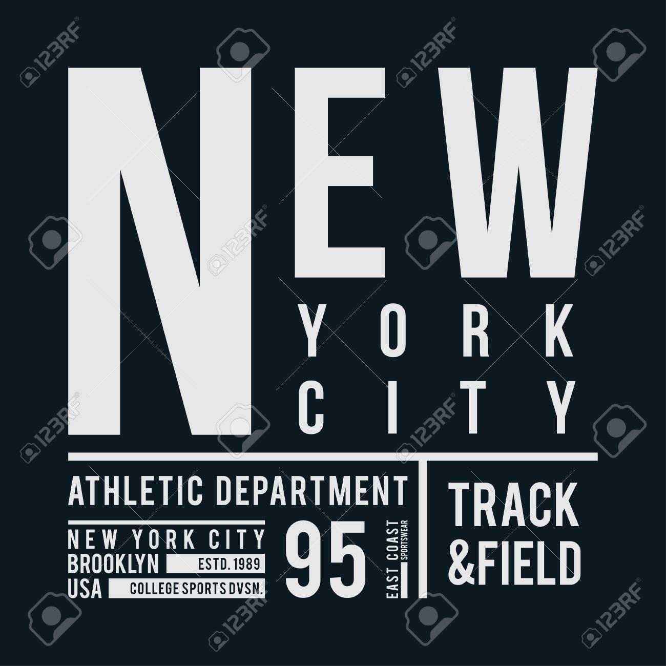 2f7ed42a2 Foto de archivo - Tipografía de Nueva York