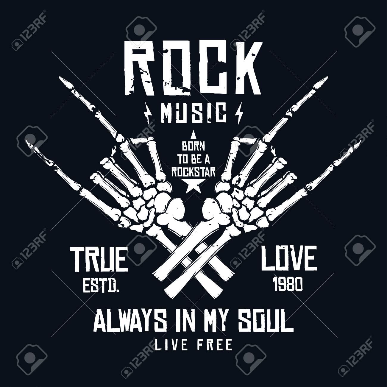 Rock Music T Shirt Design Vintage Rock Festival Poster Design