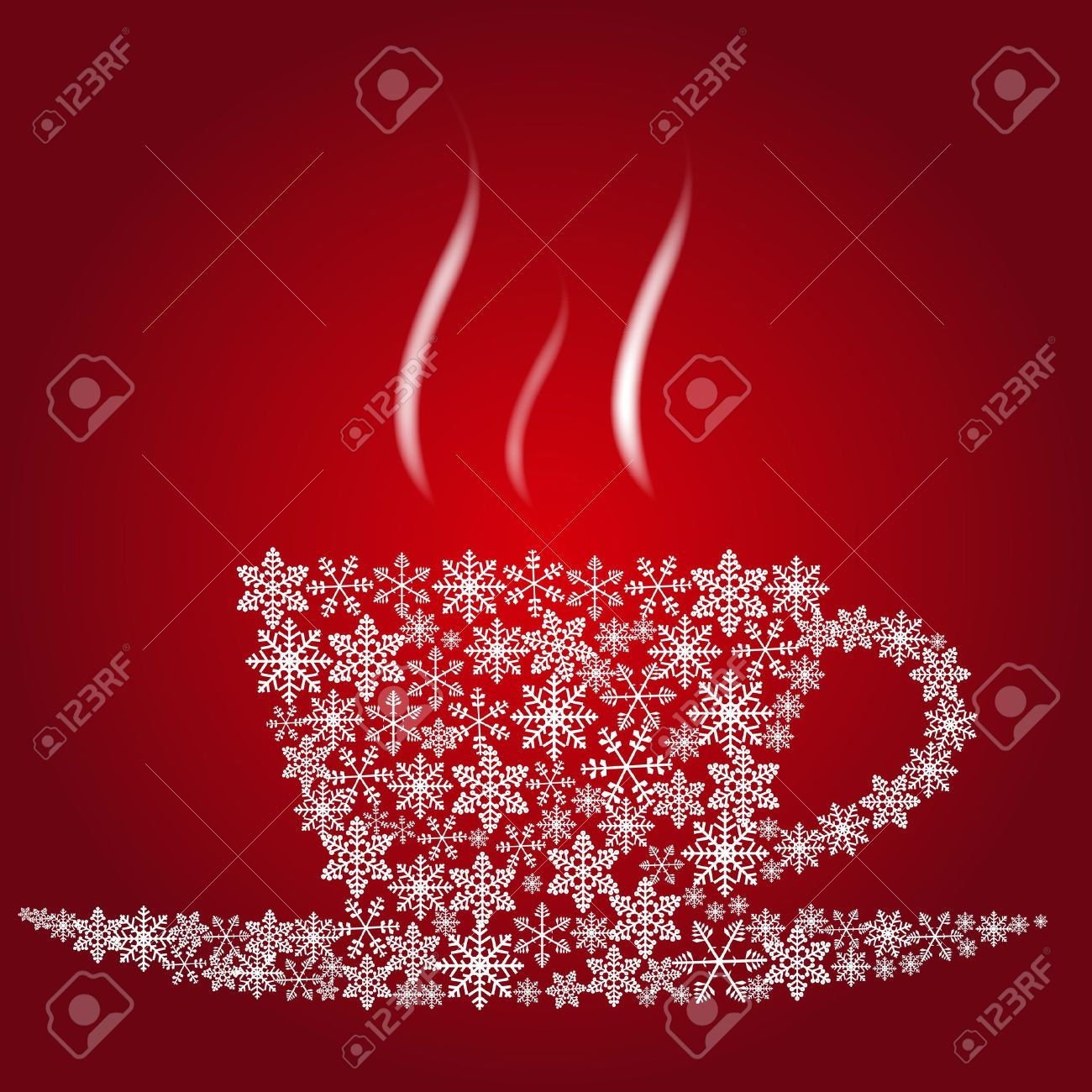 Christmas Coffee Cup Royalty Free Cliparts, Vectors, And Stock ...