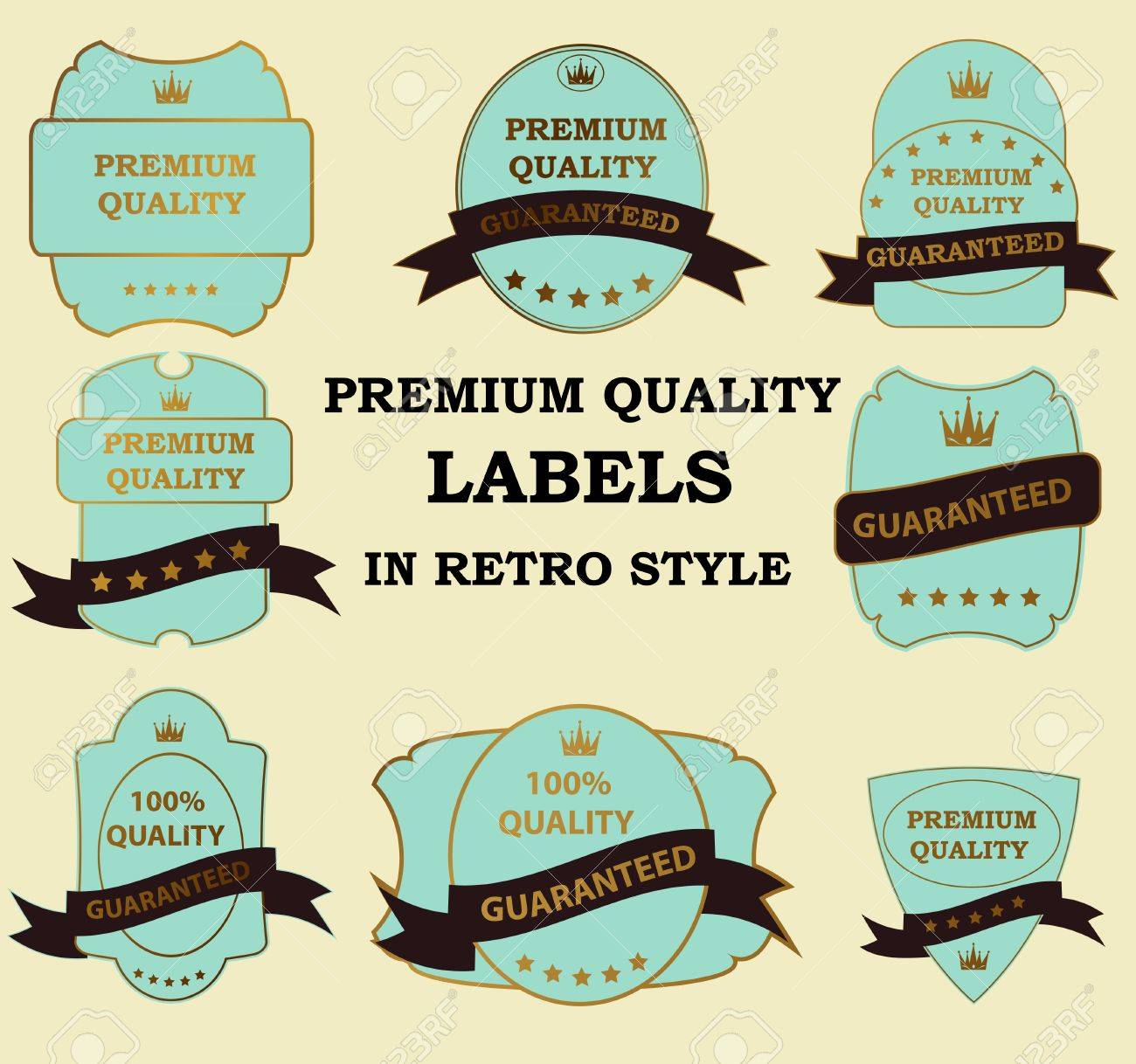 Best Seller label with red ribbon Stock Vector - 13810740