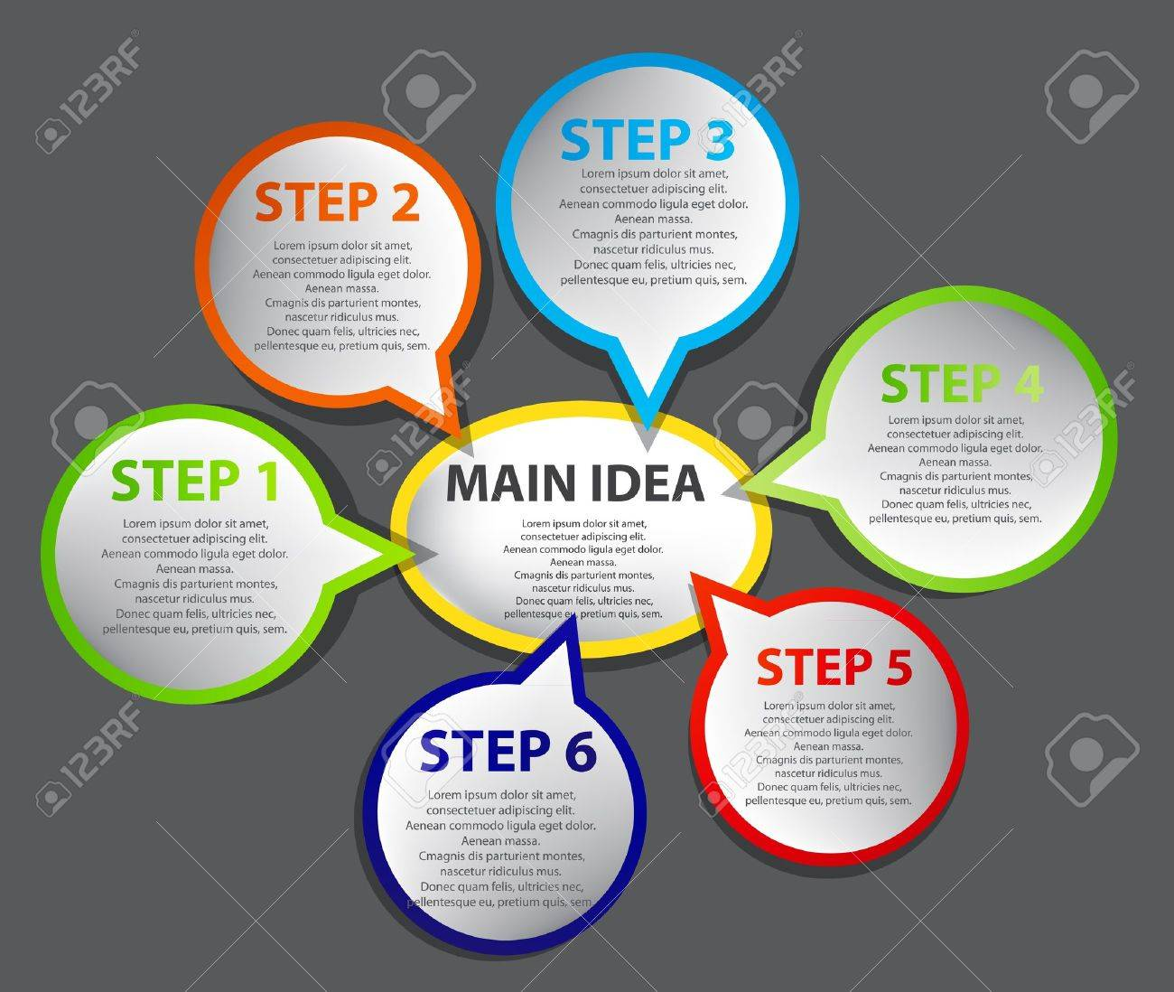 Business Presentation Diagram Stock Vector - 13968343