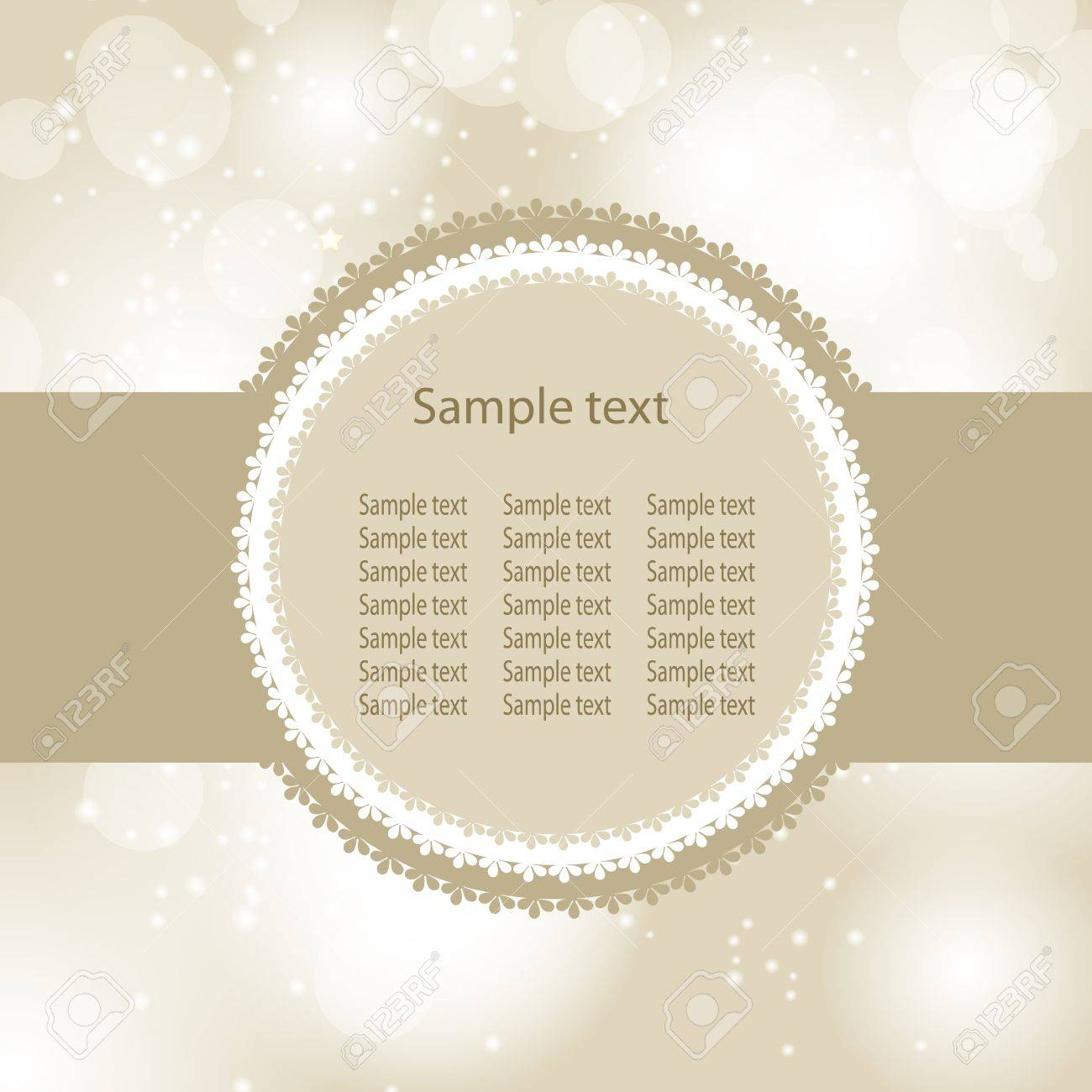 Abstract beauty Christmas and New Year background  Vector illustration Stock Vector - 14981295