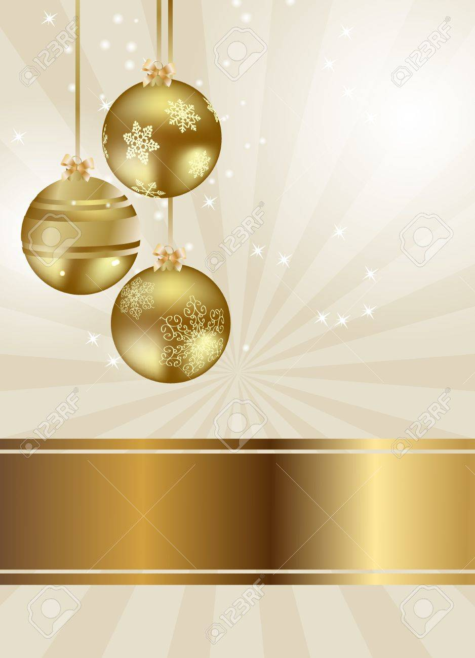 Abstract beauty Christmas and New Year background Stock Vector - 15023251