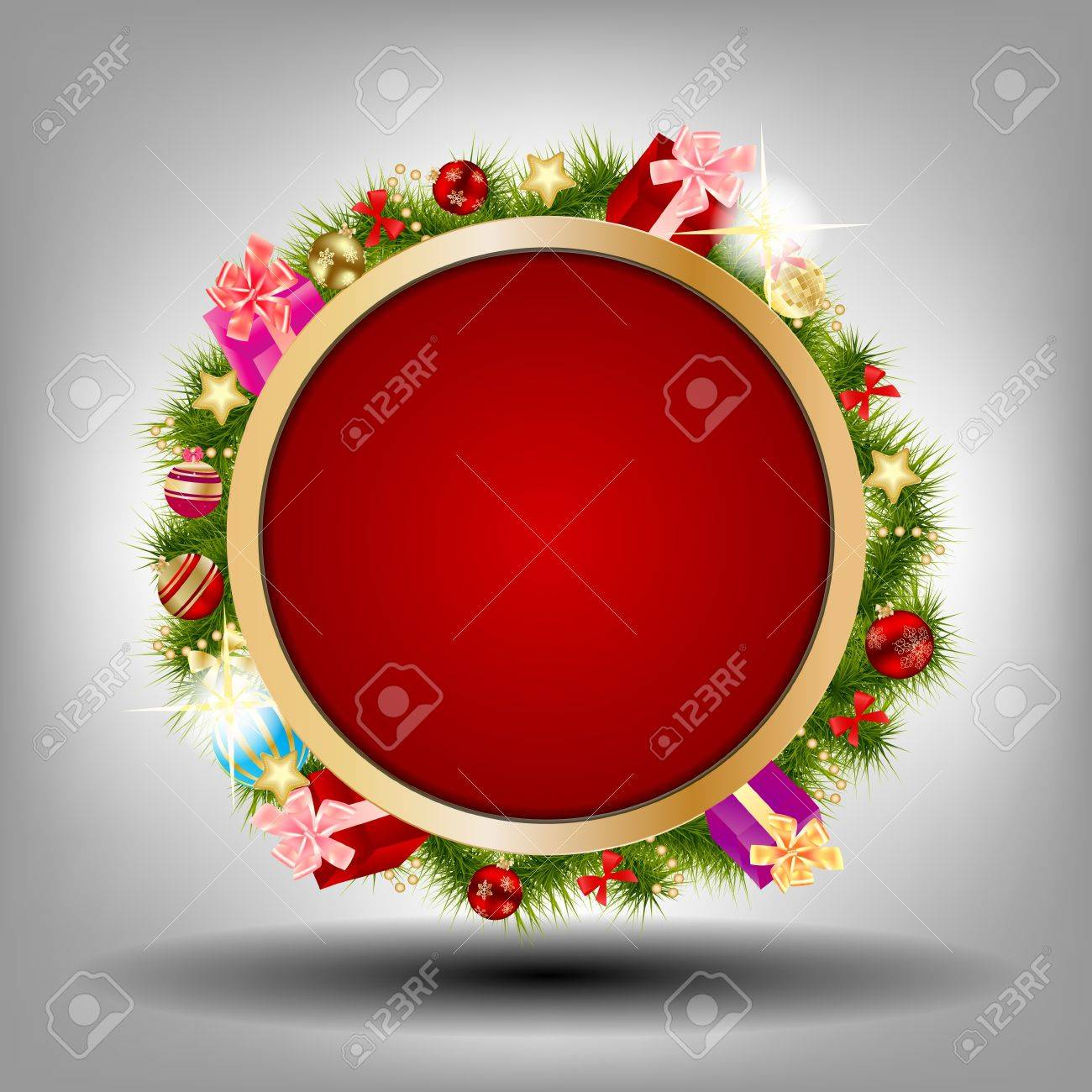 Abstract beauty Christmas and New Year background Stock Vector - 15023554