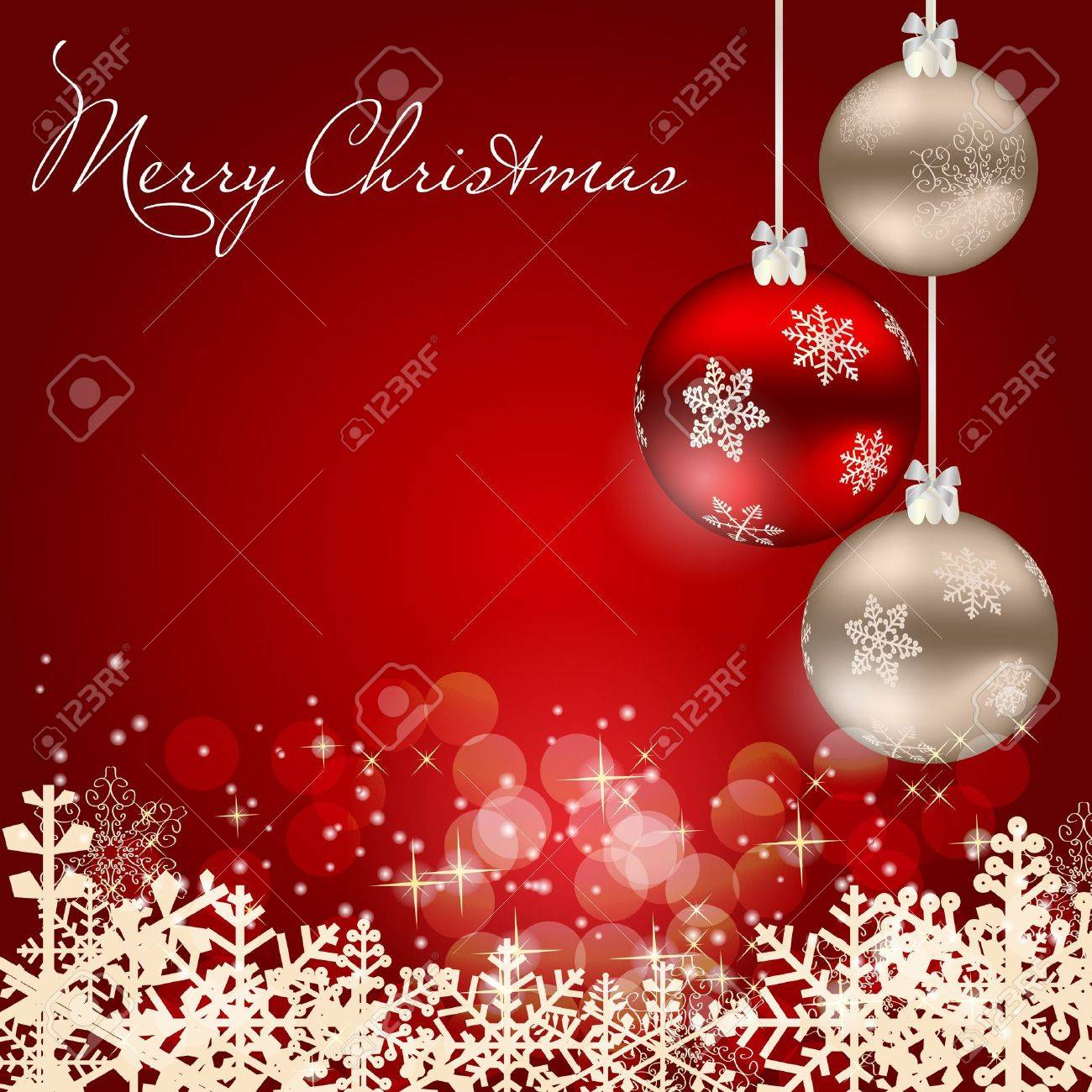 abstract beauty christmas and new year background stock vector 15023861