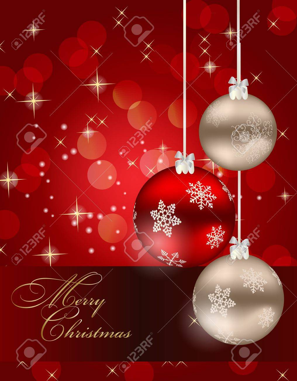 Abstract beauty Christmas and New Year background. Stock Vector - 15116902