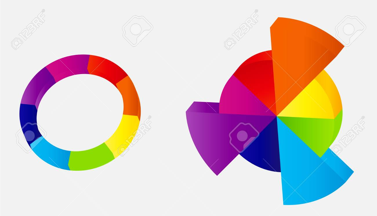 Concept of colorful circular banners with arrows Stock Vector - 17284461