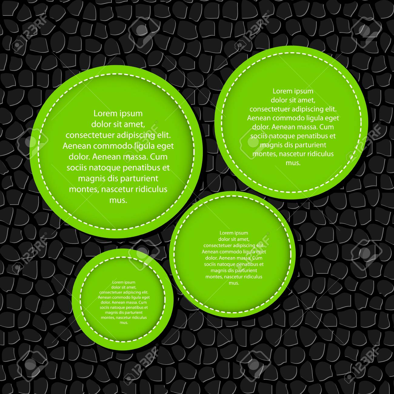 Circle banner vector illustration background Stock Vector - 17337193