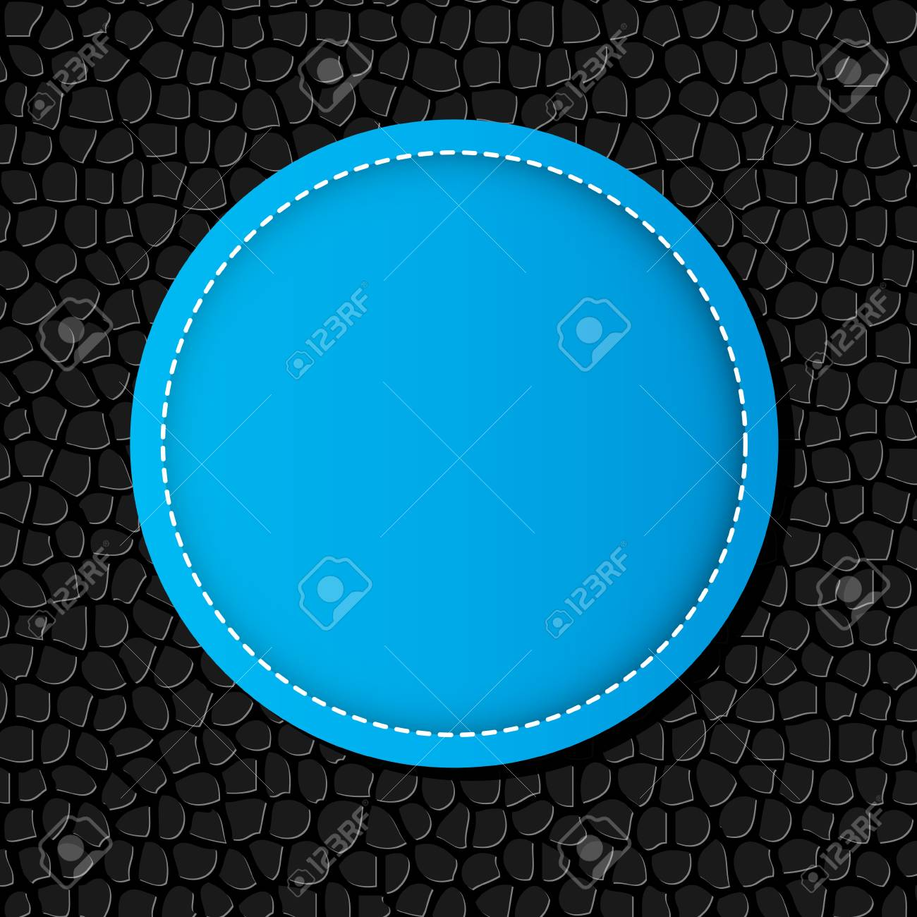Circle banner vector illustration background Stock Vector - 17380930
