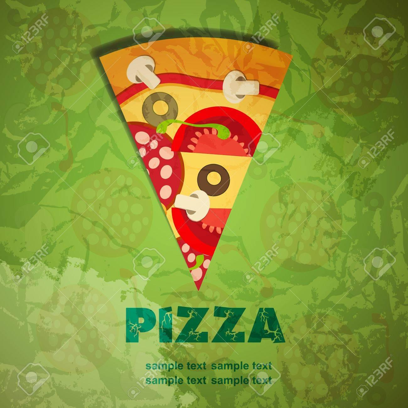 Pizza Menu Template Vector Illustration Royalty Free Cliparts – Sample Pizza Menu Template