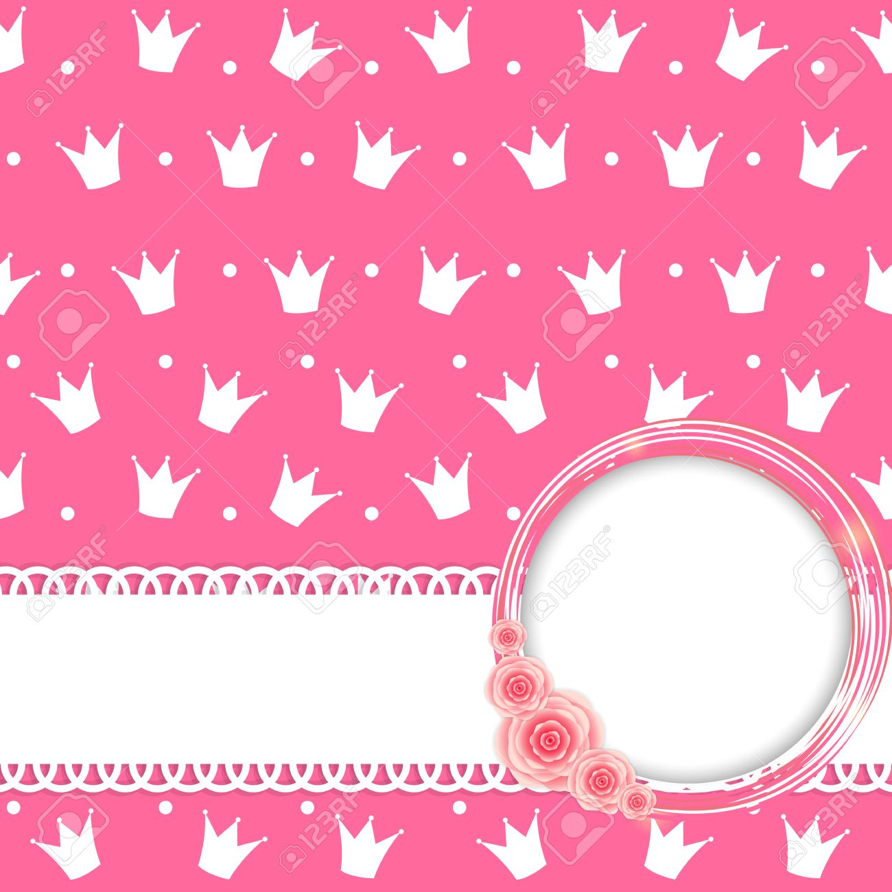 Princess Crown Background Illustration Royalty Free Cliparts Vectors And Stock Illustration Image 32407253