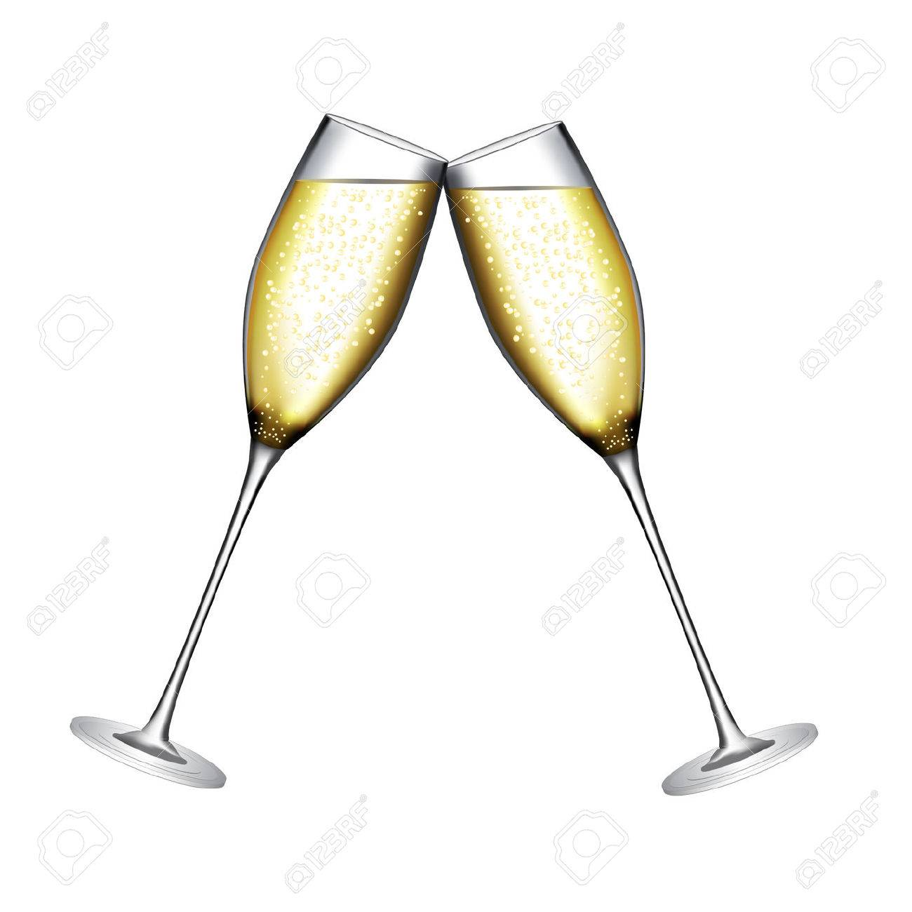 glass of champagne vector illustration royalty free cliparts rh 123rf com champagne glass clipart png champagne glass clipart black and white
