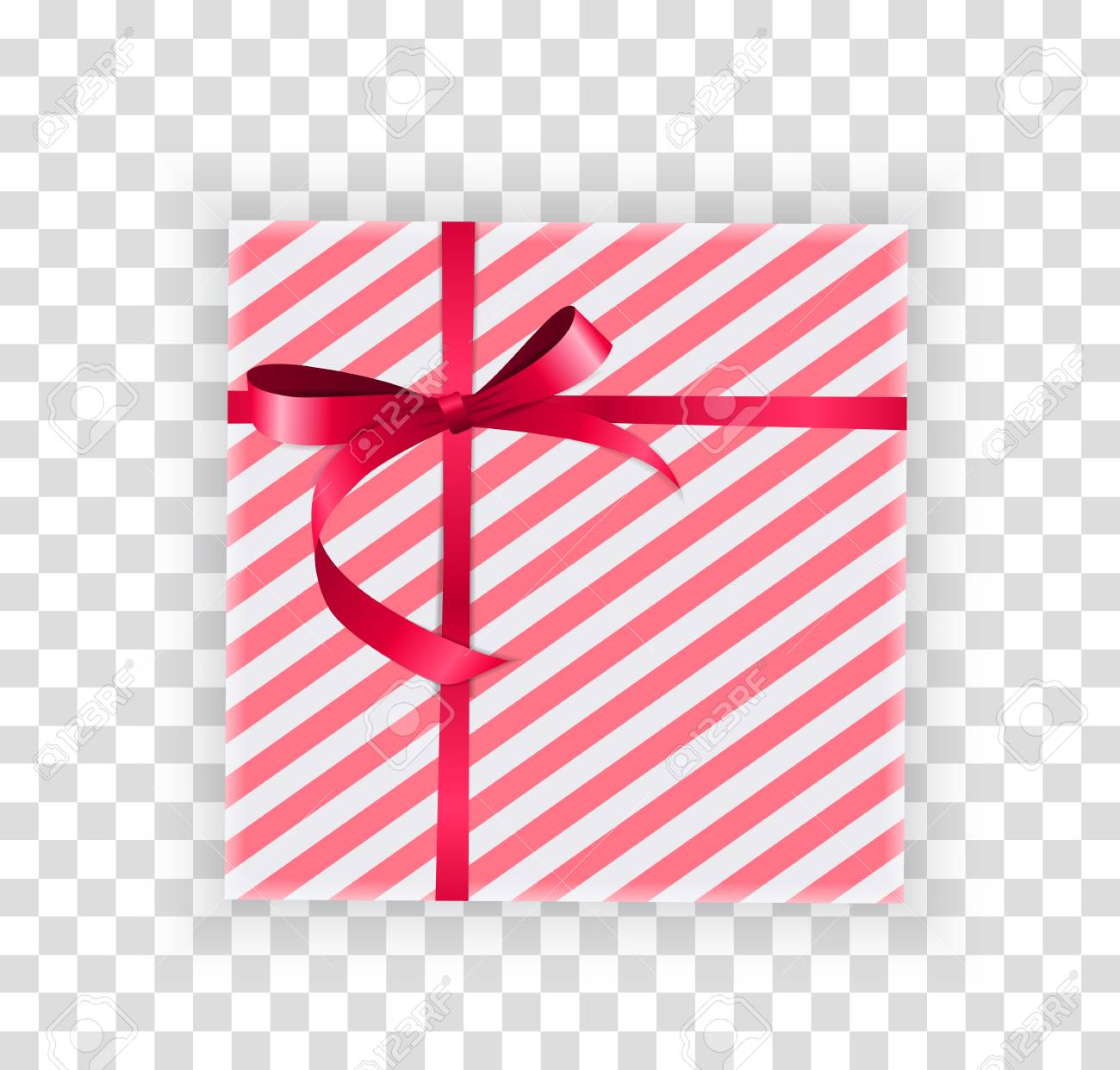 Abstract Christmas And New Year Gift Box On Transparent Background Royalty Free Cliparts Vectors And Stock Illustration Image 109361381