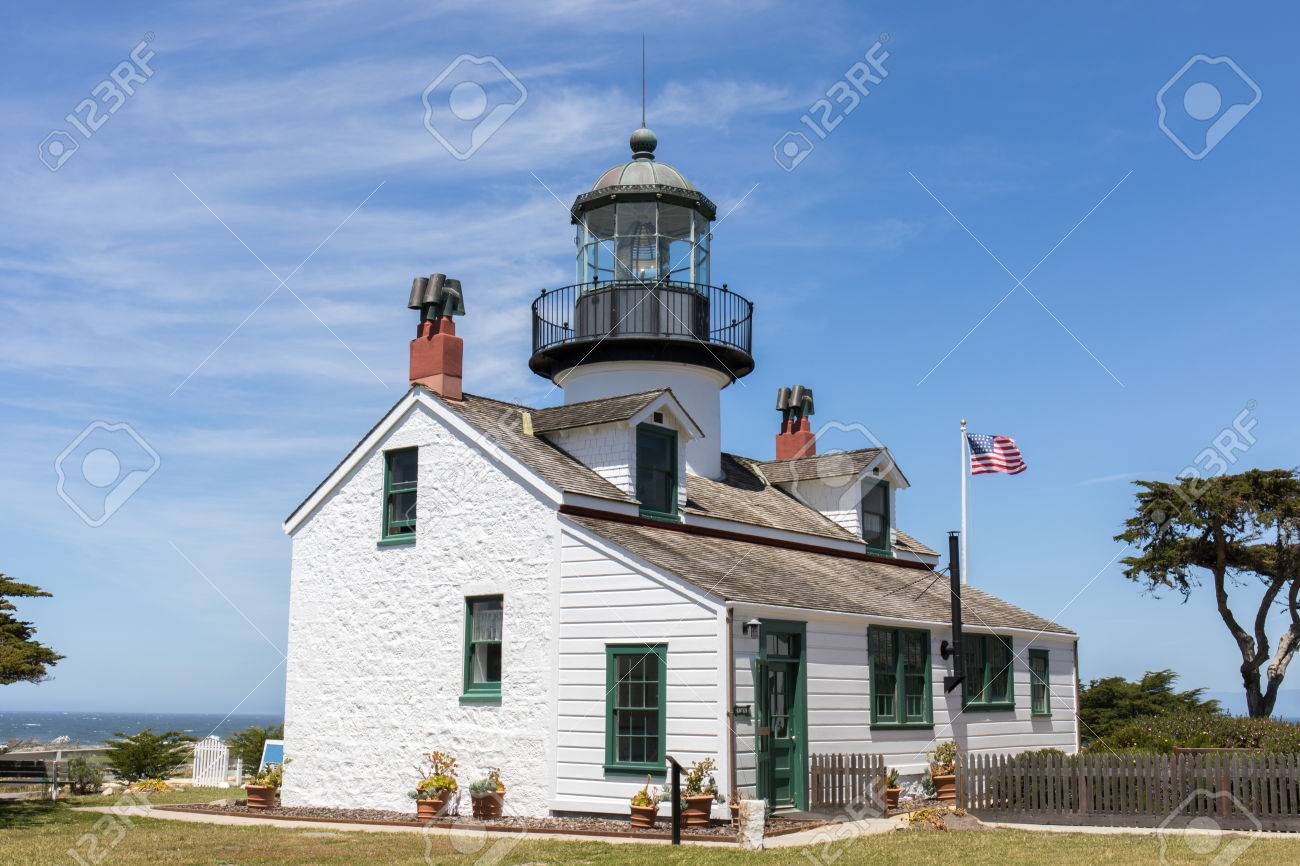 Peachy Point Pinos Lighthouse Pacific Grove Monterey County California Download Free Architecture Designs Scobabritishbridgeorg