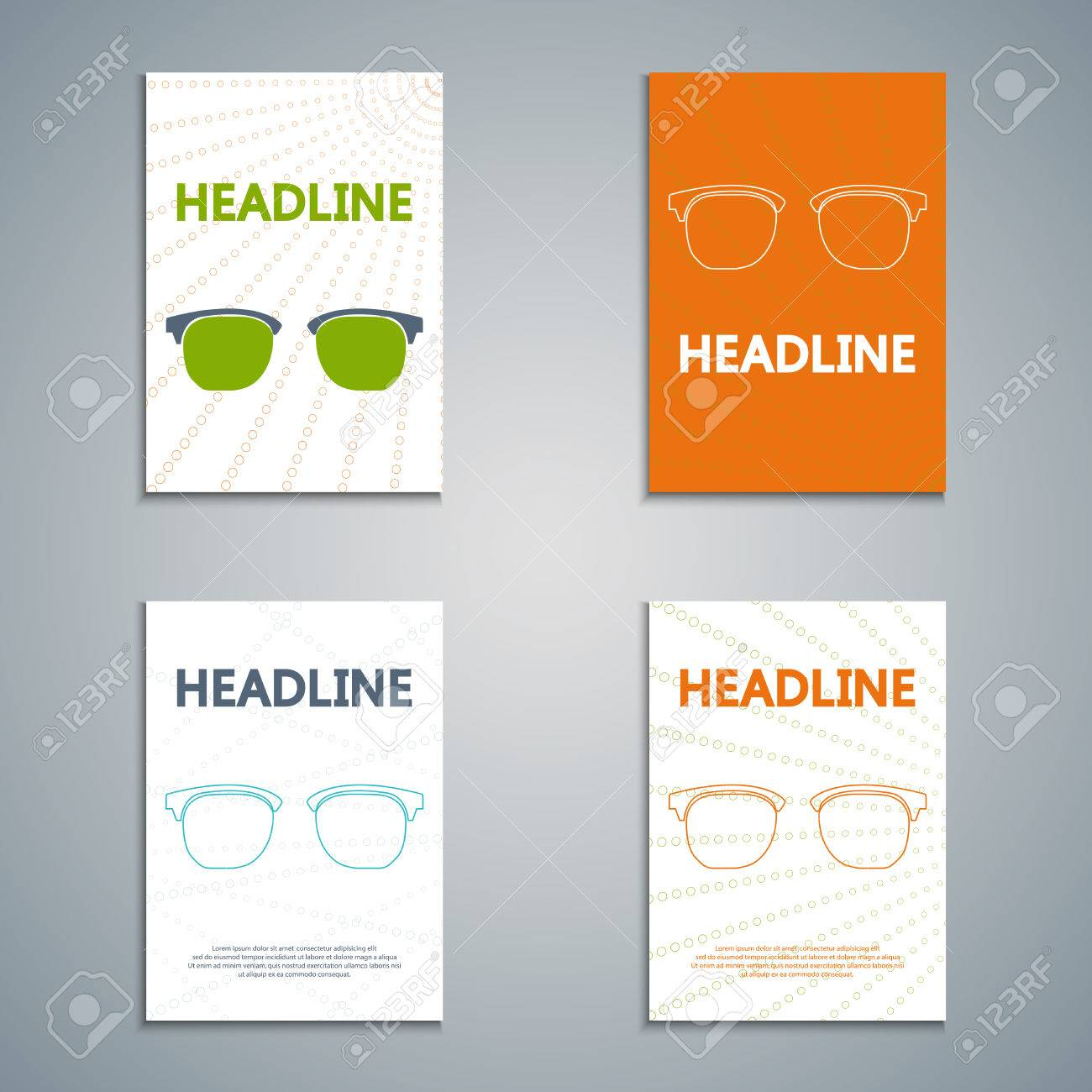 abstract creative brochure for your summer business sunglasses abstract creative brochure for your summer business sunglasses ad template design for banners presentations