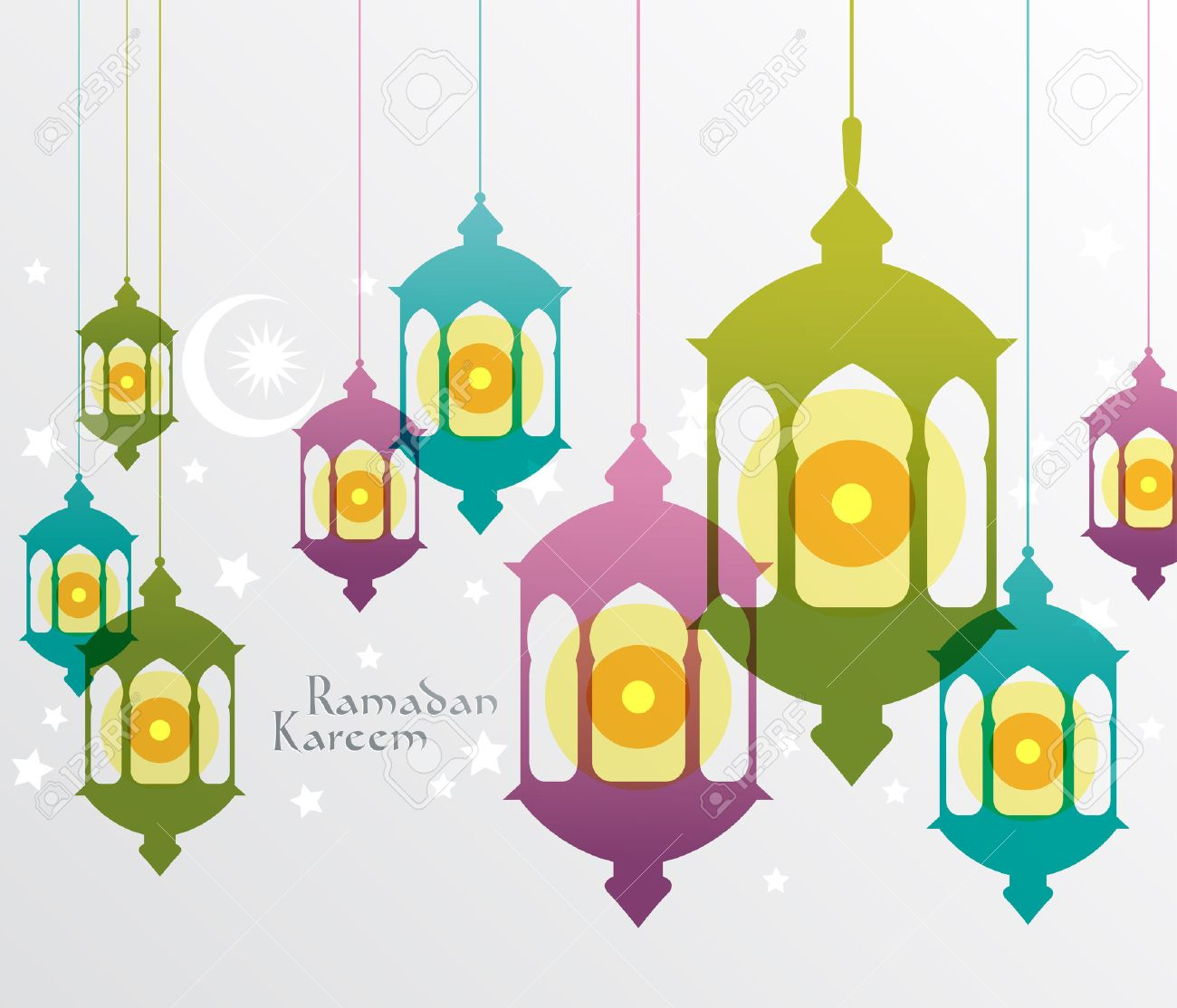 Vector Muslim Oil Lamp Graphics Translation Ramadan Kareem - May ... for Oil Lamp Clip Art  111bof