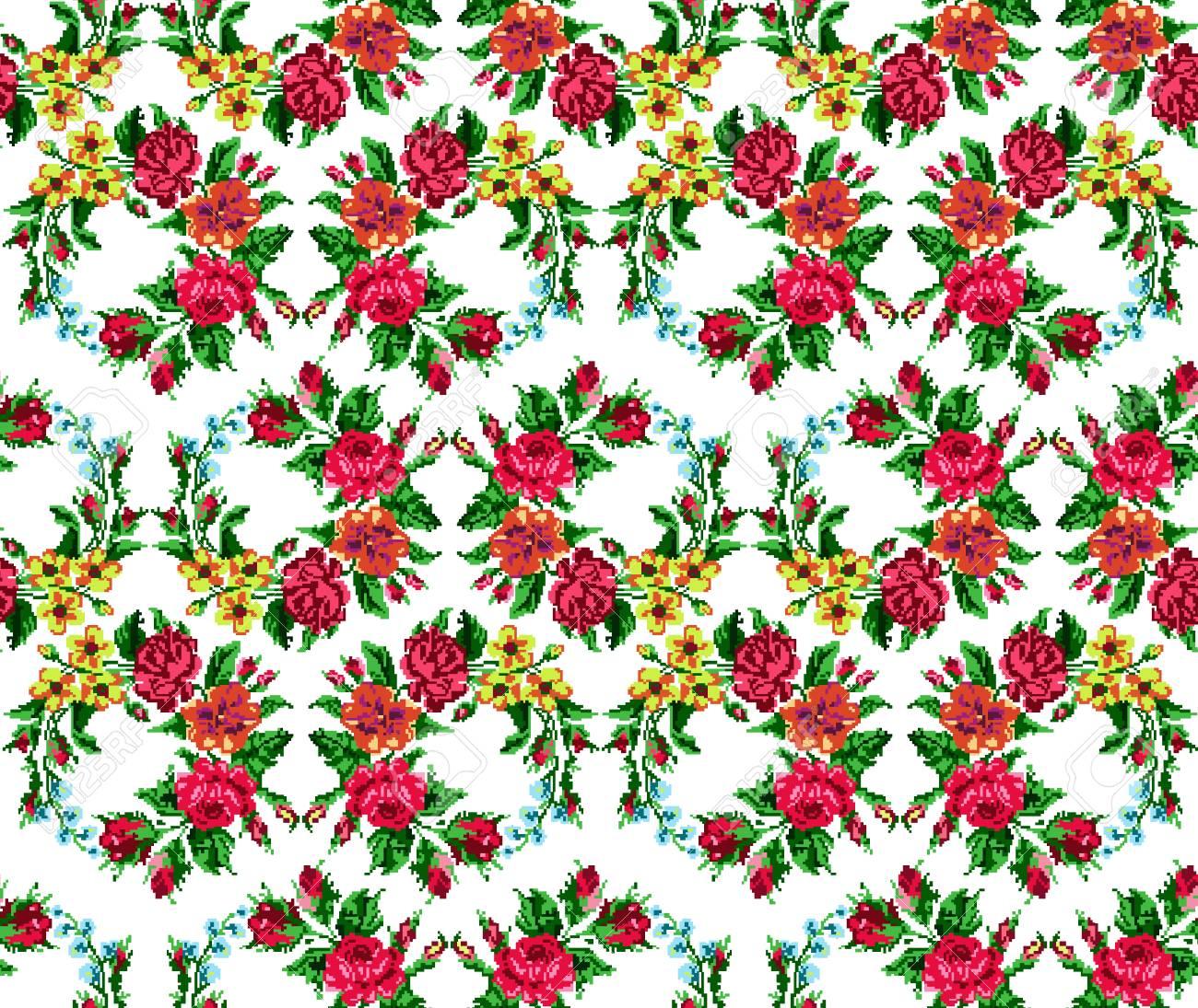 Fondos De Pantalla O Textiles Color Circulo Ramo De Flores Rosas
