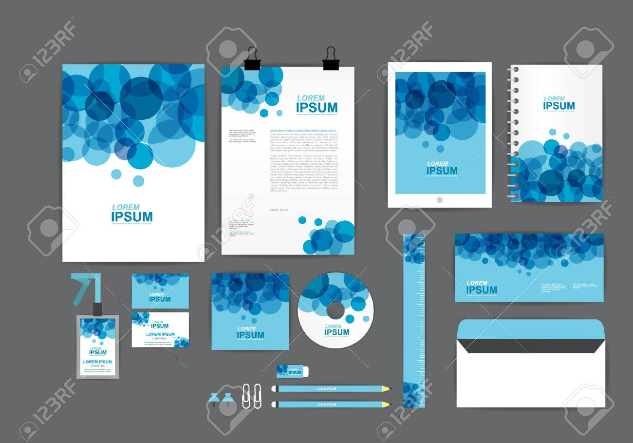 corporate identity template for your business B - 50684029