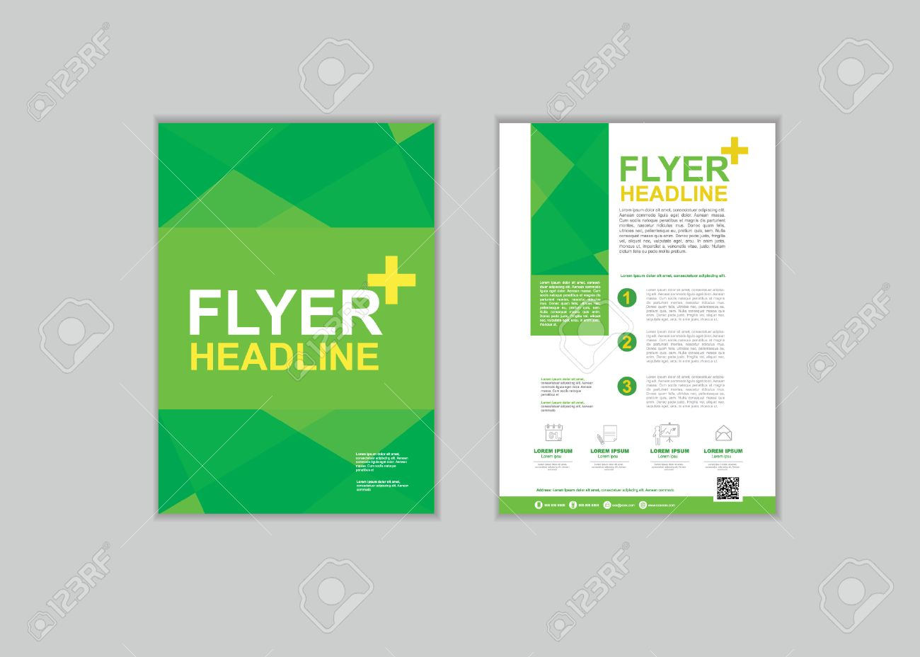 brochure flyer design layout template in a size royalty brochure flyer design layout template in a4 size stock vector 50767048