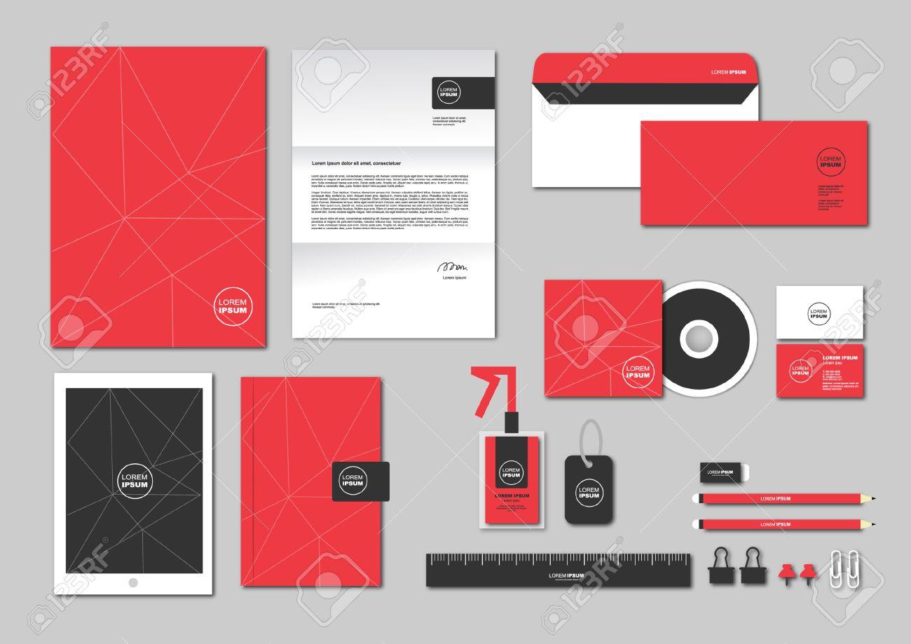 Corporate identity template includes cd cover business card corporate identity template includes cd cover business card folder ruler envelope and colourmoves