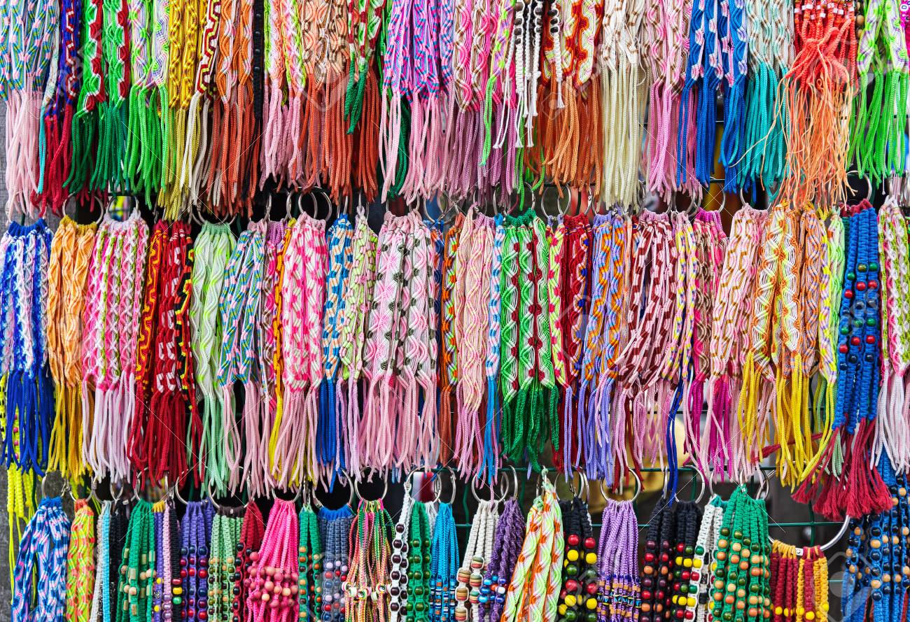 Braided Friendship Bracelets Stock Photo Picture And Royalty Free
