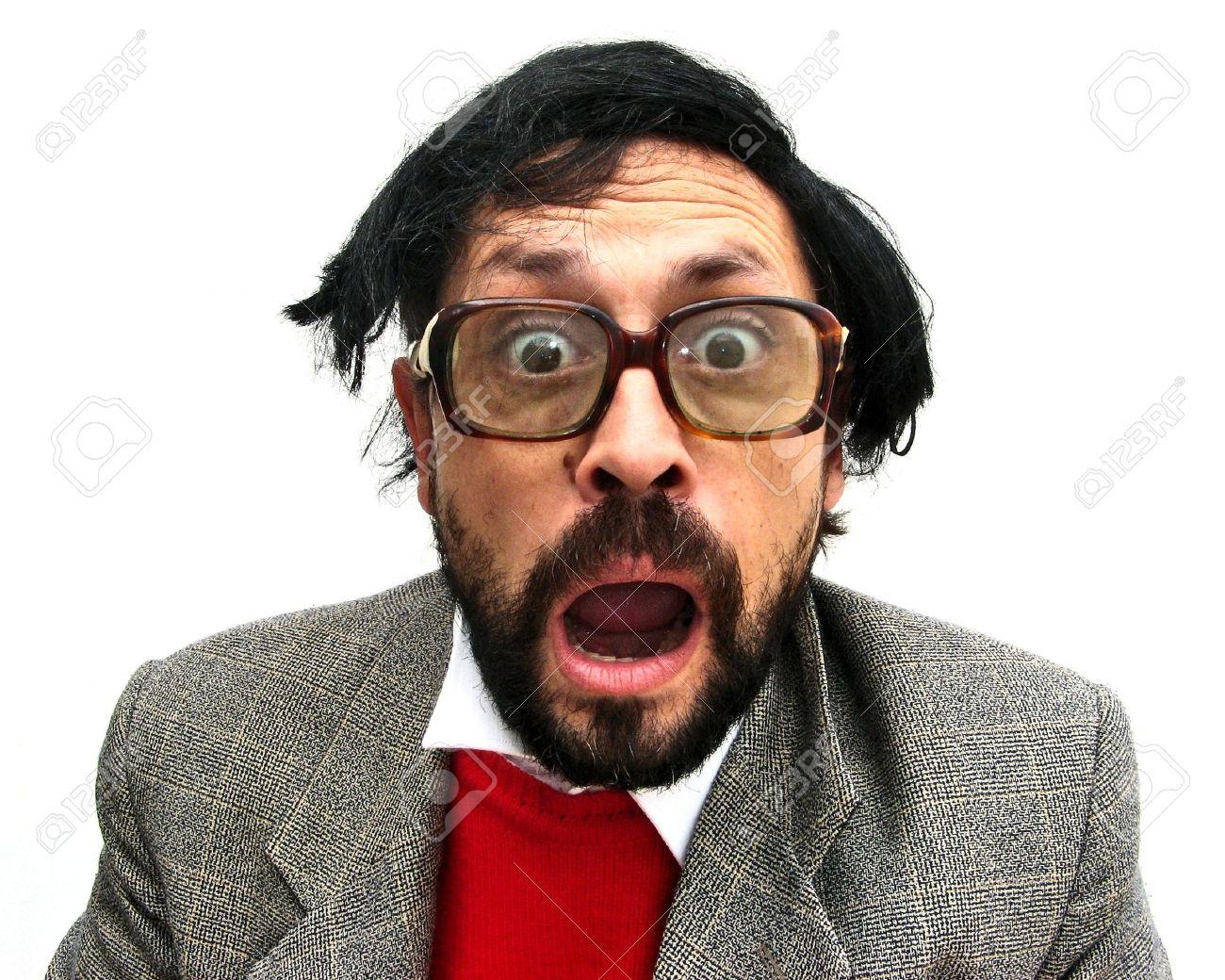 Me presento en el Club 3956948-Una-buena-para-nada-hombre-asombrado-anticuado-Foto-de-archivo