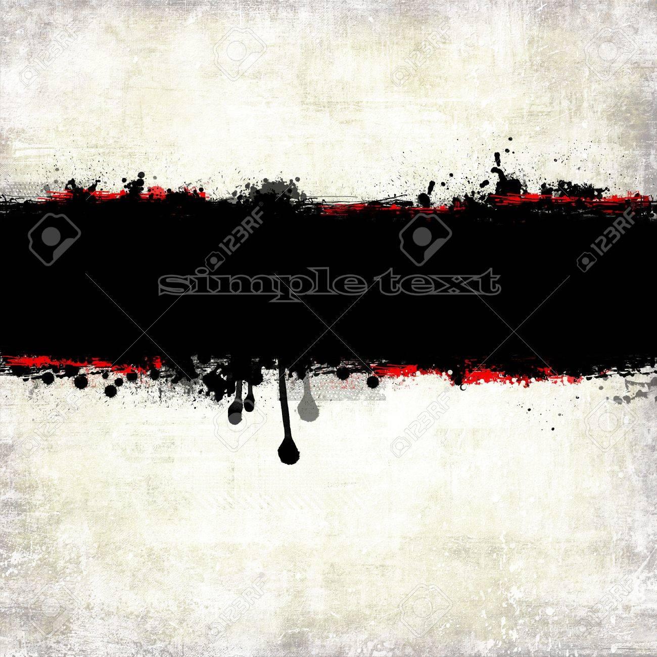 Abstract grunge bandiera elemento di design Archivio Fotografico - 14435535