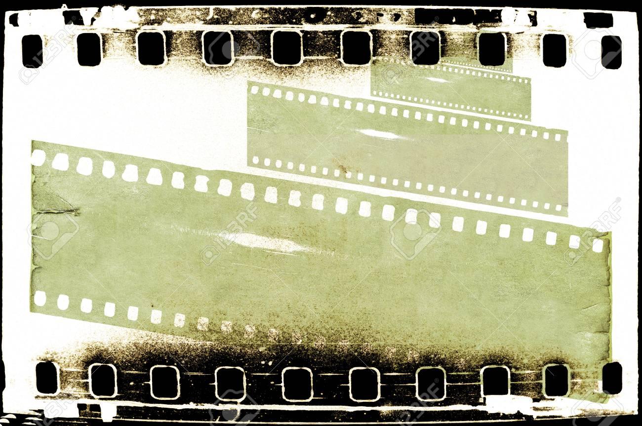 Grunge Filmstreifen-Rahmen Lizenzfreie Fotos, Bilder Und Stock ...