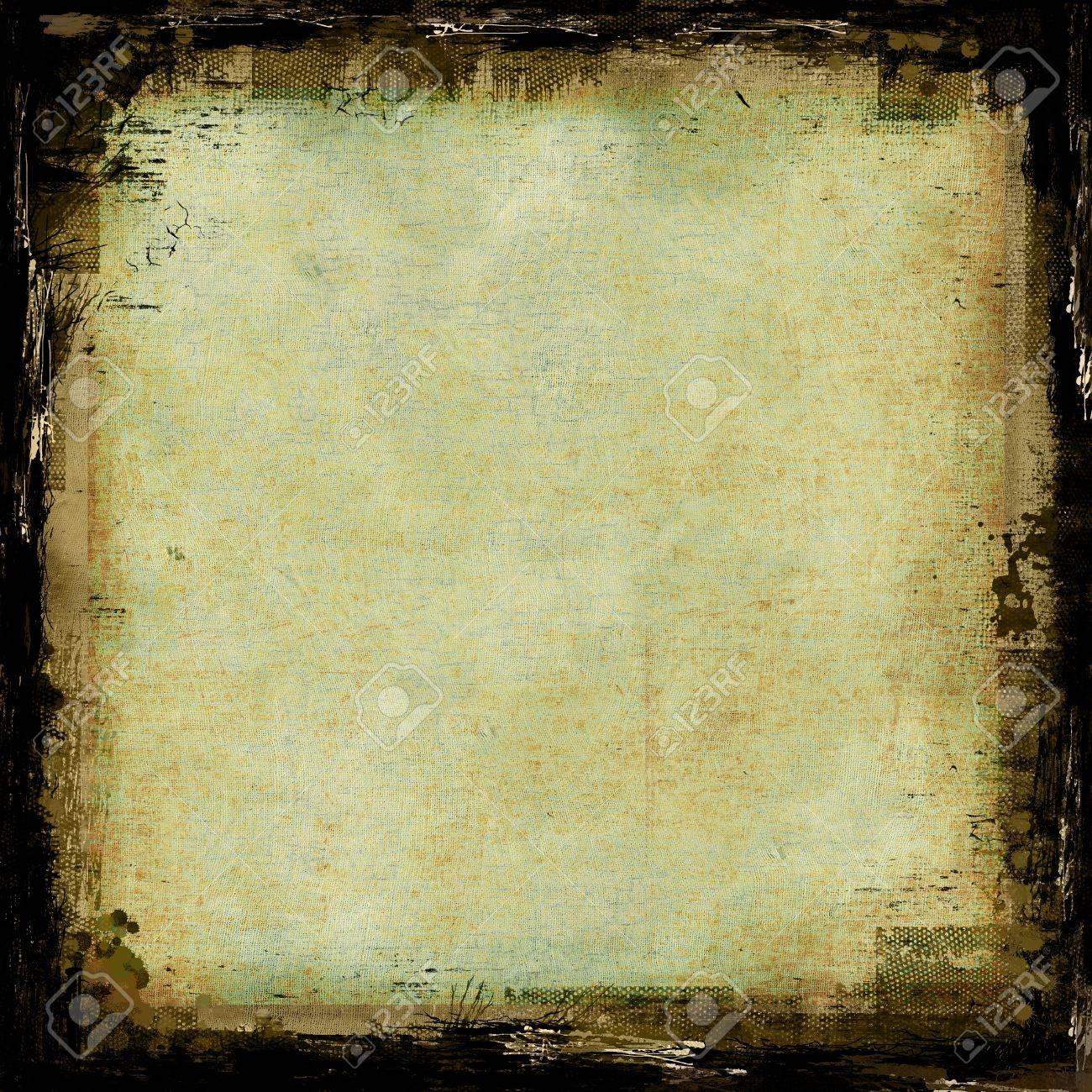 Grunge texture astratto o sfondo con bordi Archivio Fotografico - 16358505