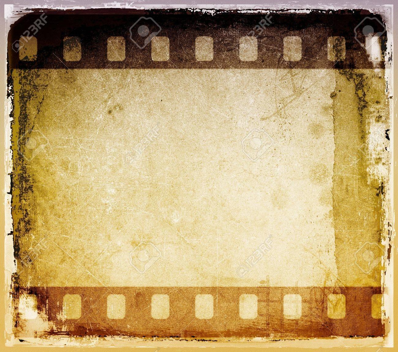 Grunge striscia di pellicola telaio Archivio Fotografico - 16469444