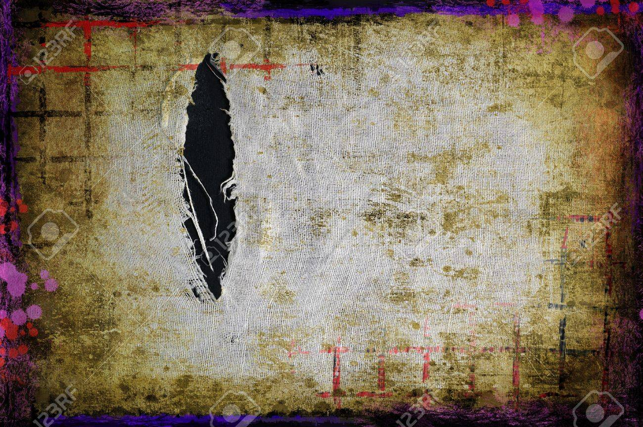 Grunge torn fabric background Stock Photo - 17013247