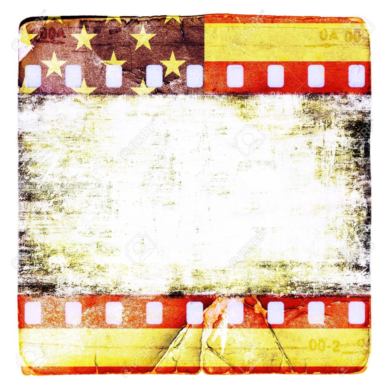 Grunge cornice film americani Archivio Fotografico - 17034375