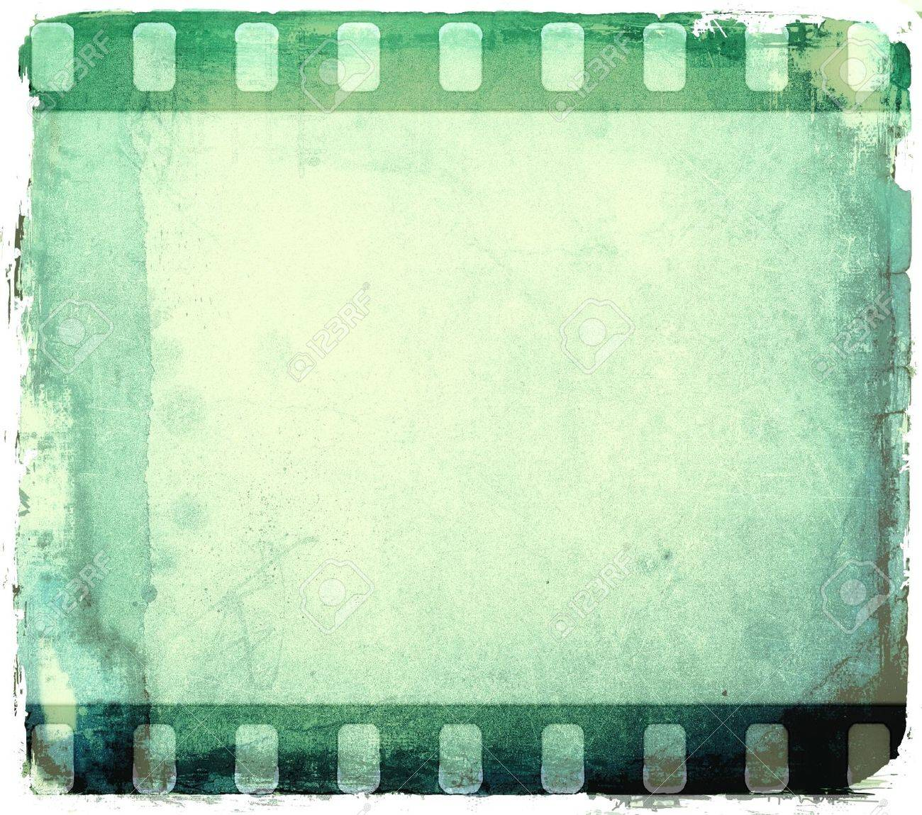 Grunge Grün Filmstreifen Rahmen Lizenzfreie Fotos, Bilder Und Stock ...