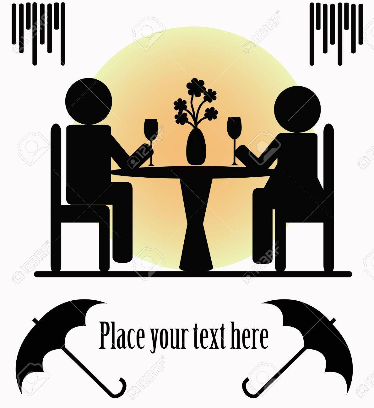 Dinner for Two Clip Art – Clipart Free Download