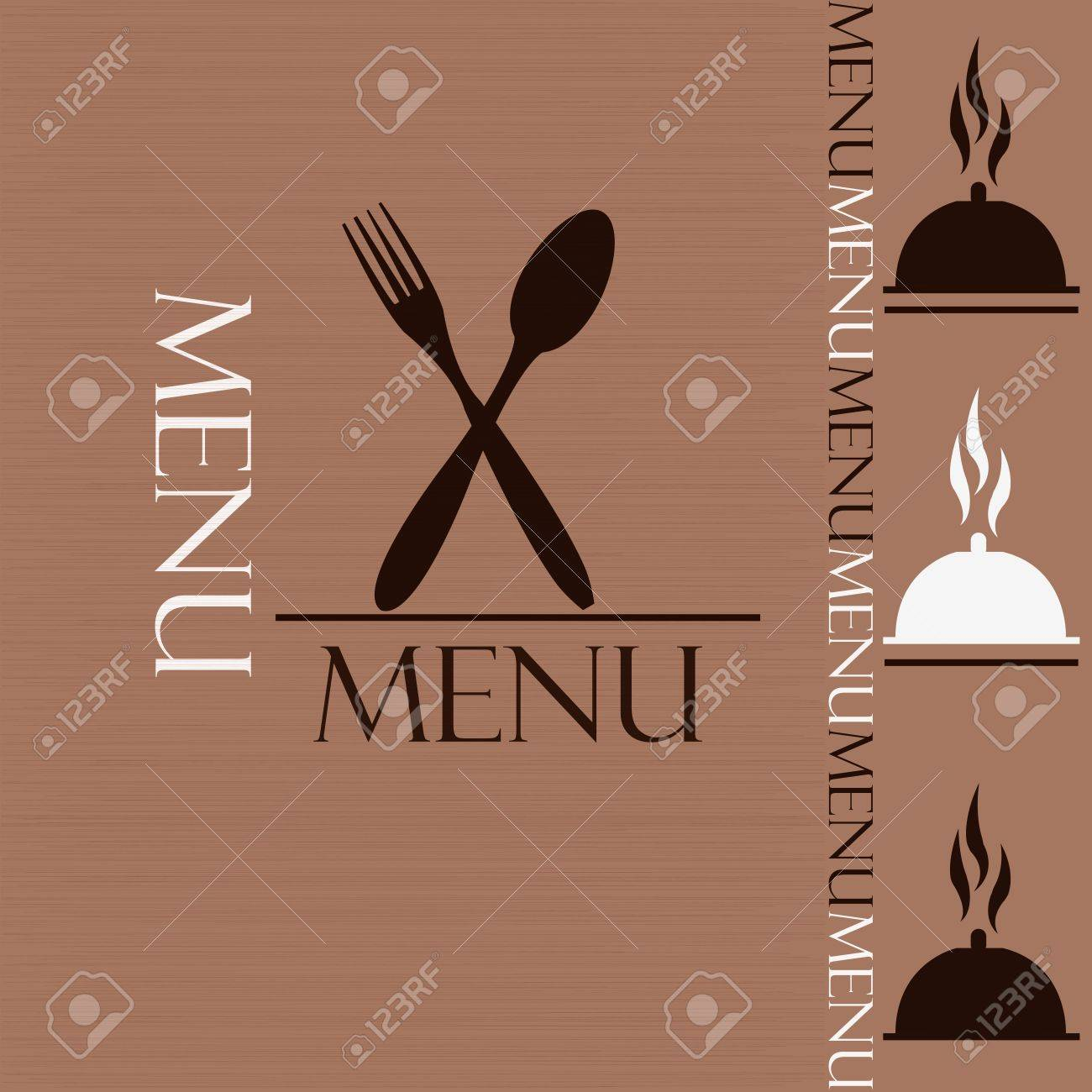 sample menu for restaurant and cafe royalty free cliparts vectors